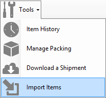 Import Items